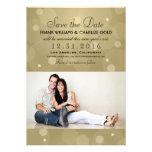 Reserva del boda de Noche Vieja la tarjeta de la f Anuncios