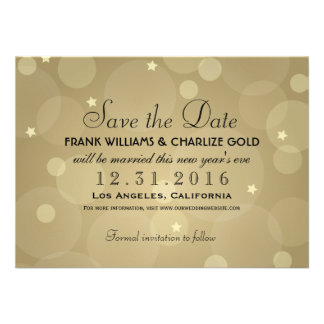 Reserva del boda de Noche Vieja la tarjeta plana d Invitacion Personal