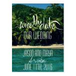 Reserva del boda de playa de Aruba la fecha