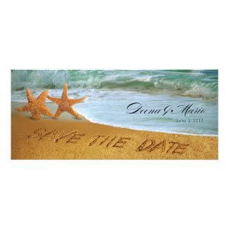 Reserva del boda de playa de los pares de las estr comunicados personales