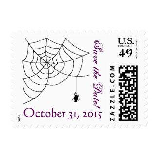 Reserva del boda de Spiderweb la fecha Sellos