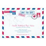 Reserva del boda del correo aéreo de Alemania la Anuncio Personalizado