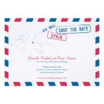 Reserva del boda del correo aéreo de España la fec