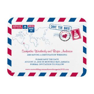 Reserva del boda del correo aéreo de Jamaica la fe Iman