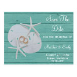 Reserva del boda del destino de la playa las posta
