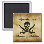 Reserva del boda del pirata el imán del recuerdo