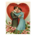 Reserva del boda del Victorian la fecha Postal