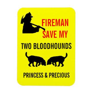 Reserva del bombero mi seguridad contra incendios  imanes