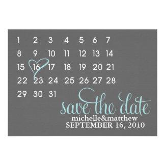 Reserva del calendario las invitaciones del boda d comunicado