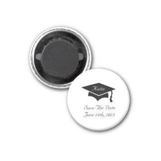 Reserva del casquillo de la graduación el imán de