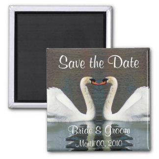 Reserva del cisne los imanes de la fecha imán de frigorifico