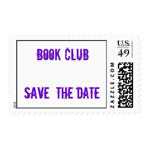 Reserva del club de libro los sellos de la fecha