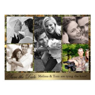Reserva del collage de la foto de Camo la postal d