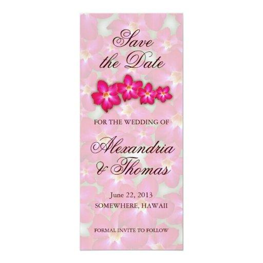 Reserva del collage del rosa de desierto la fecha comunicados personalizados