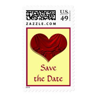 reserva del corazón la fecha sellos