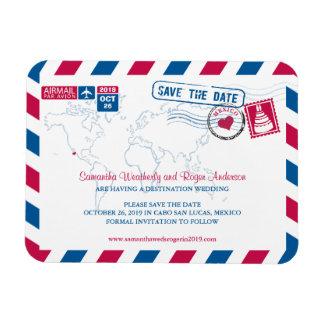 Reserva del correo aéreo el | de Cabo San Lucas Mé Imanes Rectangulares