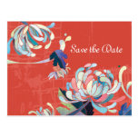 Reserva del crisantemo las postales del boda de la