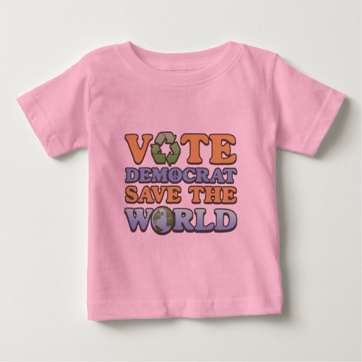Reserva del Dem del voto el mundo T Shirts