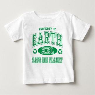 Reserva del Día de la Tierra nuestro planeta Playeras