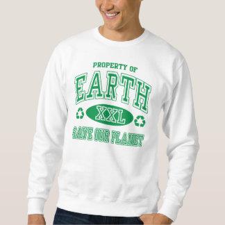 Reserva del Día de la Tierra nuestro planeta Sudadera Con Capucha