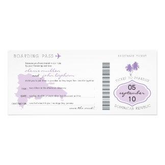 Reserva del documento de embarque la fecha a la Re Invitacion Personal