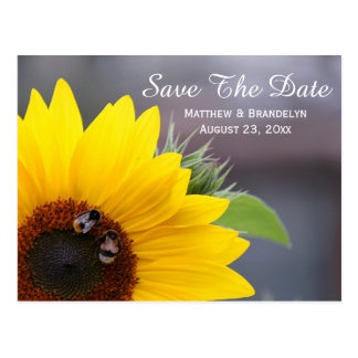 Reserva del girasol la postal del boda de la fecha