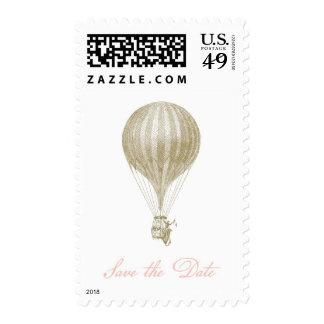 Reserva del globo del vintage el sello de fecha