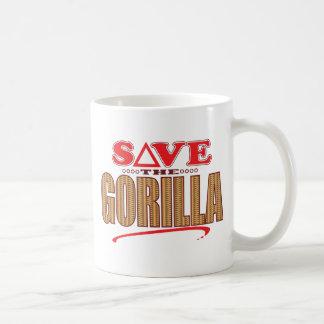 Reserva del gorila taza