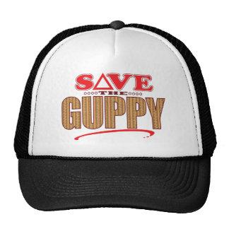 Reserva del Guppy Gorras De Camionero