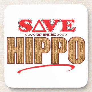 Reserva del hipopótamo posavaso