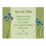 Reserva del jardín del iris la postal de la fecha