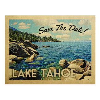 Reserva del lago Tahoe las postales del vintage de