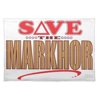 Reserva del Markhor Mantel Individual