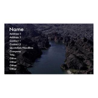 Reserva del nacional de Havasu Tarjetas De Visita
