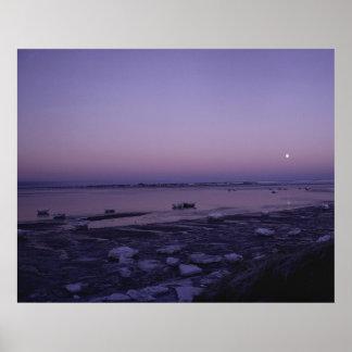 Reserva del nacional del delta del Yukón Póster