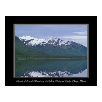 Reserva del nacional del Kodiak del lago alaska Tarjetas Postales