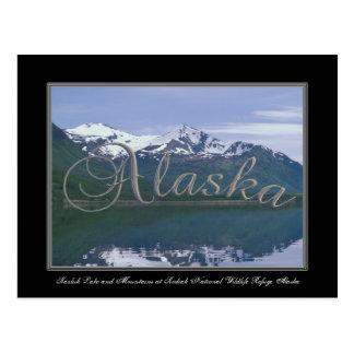 Reserva del nacional del Kodiak del lago alaska Postales