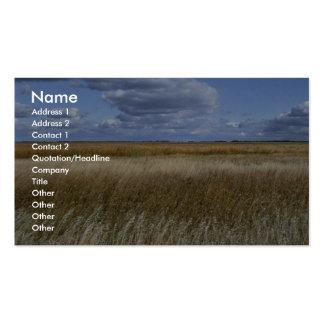 Reserva del nacional del lago sand tarjetas de visita