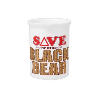 Reserva del oso negro jarras para bebida