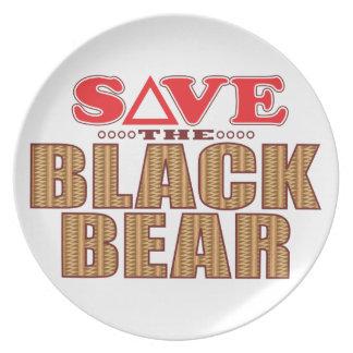 Reserva del oso negro platos de comidas
