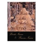 reserva del otoño del boda del viñedo la fecha