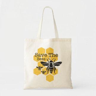 Reserva del panal las abejas bolsa tela barata