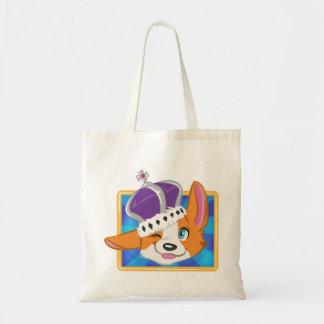 Reserva del perro el icono del juego de la reina bolsa tela barata