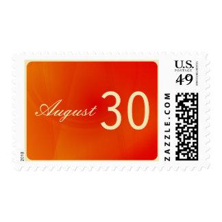 Reserva del personalizado el sello de fecha: Refle