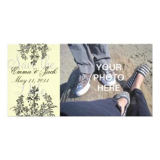 Reserva del personalizado la tarjeta de encargo de tarjetas con fotos personalizadas