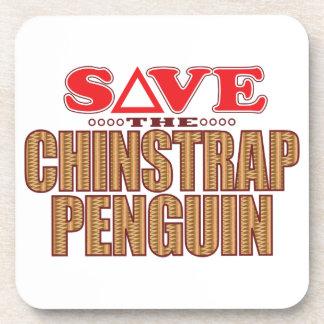 Reserva del pingüino de Chinstrap Posavasos De Bebida