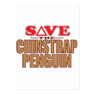Reserva del pingüino de Chinstrap Tarjeta Postal