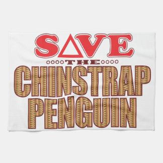 Reserva del pingüino de Chinstrap Toallas De Mano