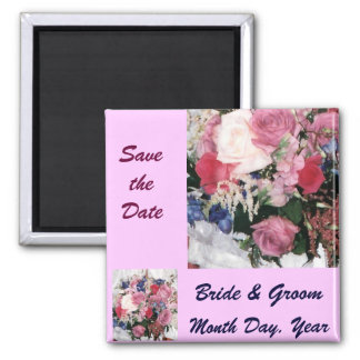 Reserva del ramo floral el imán de la fecha