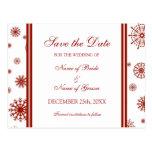 Reserva del rojo la postal del boda del invierno d